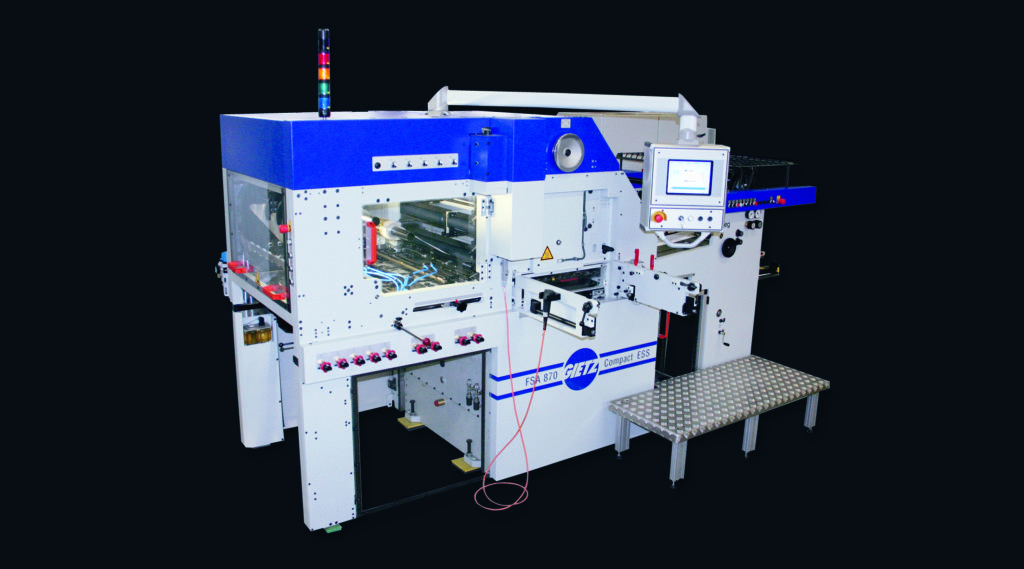hot-stamping automat